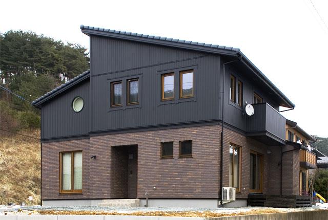 シンプルデザインにこだわった家