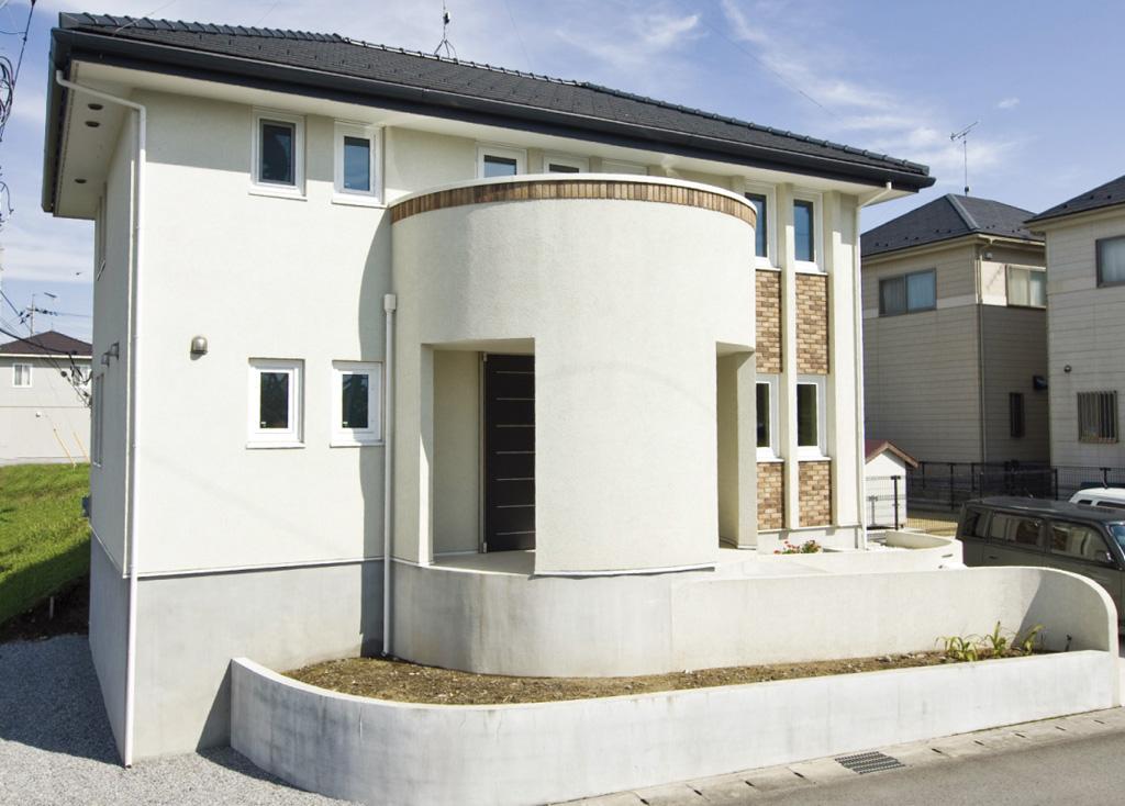 高気密高断熱住宅のメリットを活かした、仕切りの少ない開放的な家