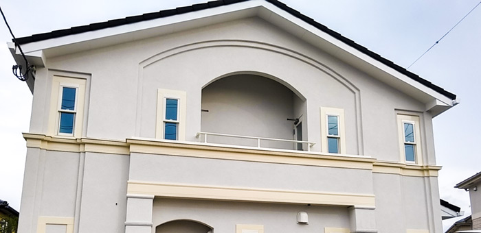 仙台市「フランスの街並みを意識した賃貸アパート」見学会開催10月28〜30日:外観