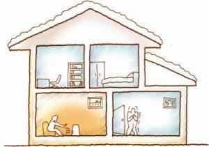 快適な家づくりを実現する3つのキーワード【断熱・気密・換気】の画像