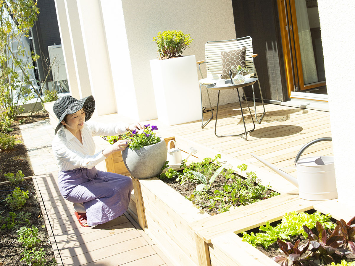 二世帯住宅のメリットは家事を分担できること
