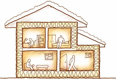 高性能住宅なら冬でも家じゅう快適に過ごせる