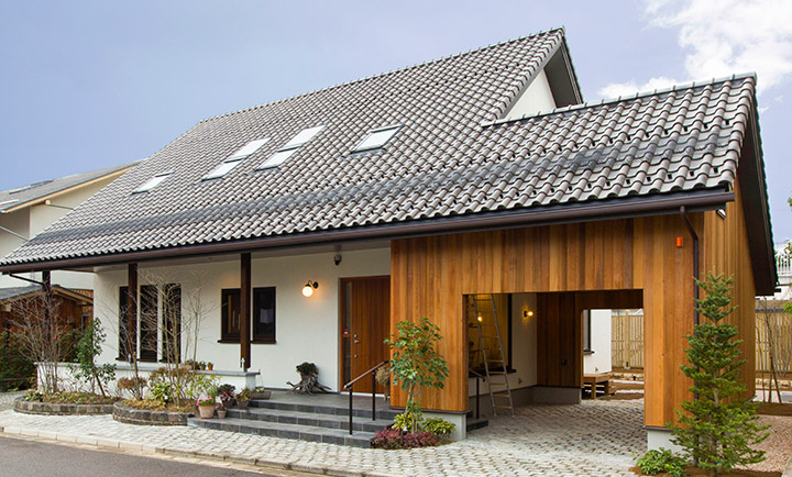 北洲ハウジングのパッシブハウス(福島テレビハウジングプラザ福島 E1 Alsace)