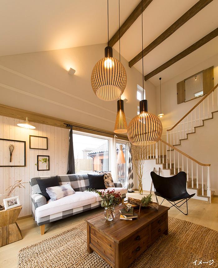 仙台市「ゆったりとした大屋根が美しい、北欧スタイルの家」完成見学会開催