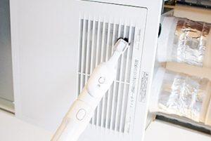 熱交換換気システムのお手入れ(パナソニック社製)の画像