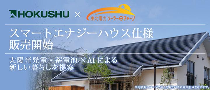 太陽光発電・蓄電池×AIによる新しい暮らしを提案 スマートエナジーハウス仕様を販売開始